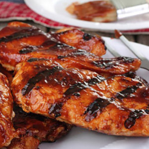 BBQ Marinated Chicken Fillets (2 fillets )