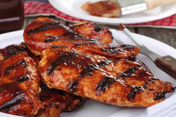 BBQ Marinated Chicken Fillets (2 fillets )