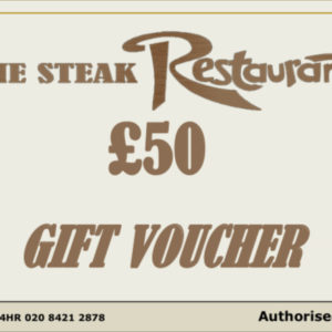 £50 Monetary Voucher