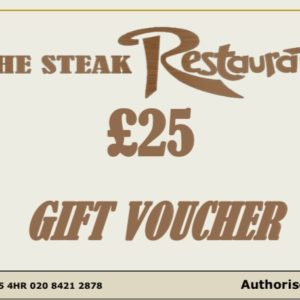 £25 Monetary Voucher
